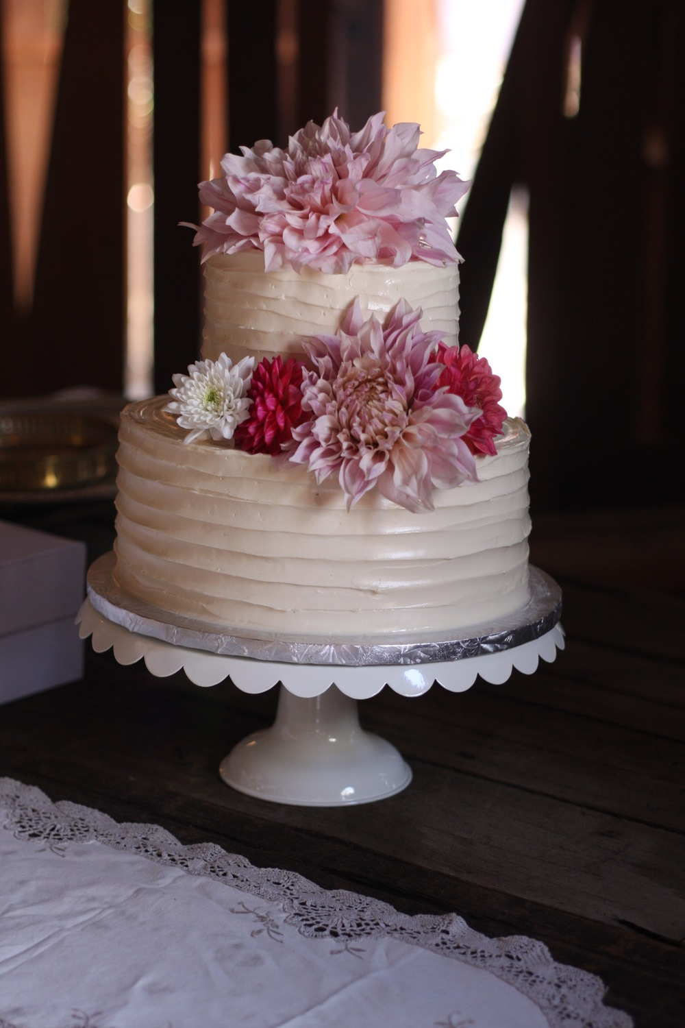 Wide Combed Buttercream