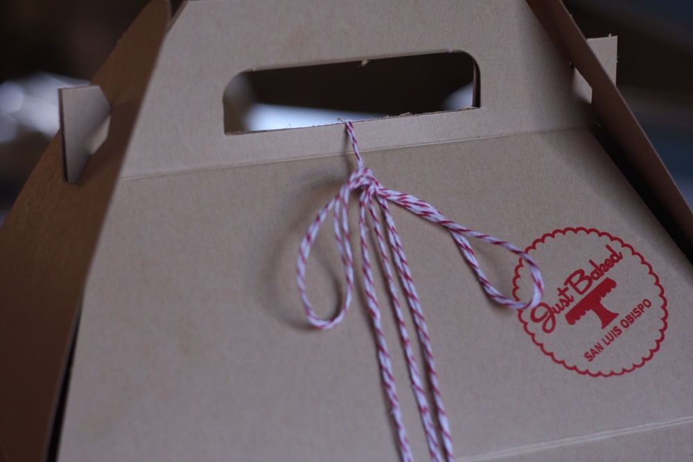 Our packaging for local deliveries. Each item is individually wrapped for freshness.