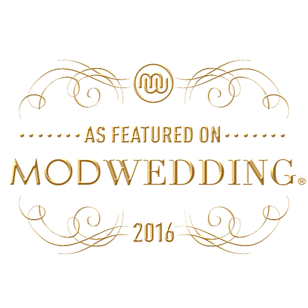Featured on ModWedding