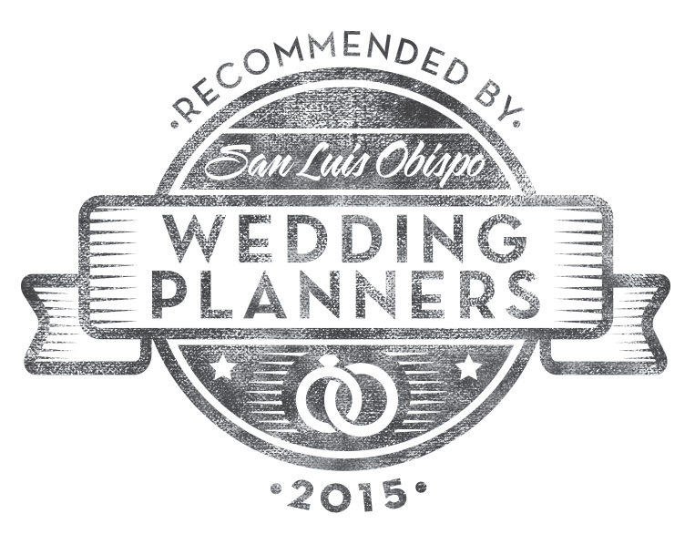 Recommended by SLO Wedding Planners