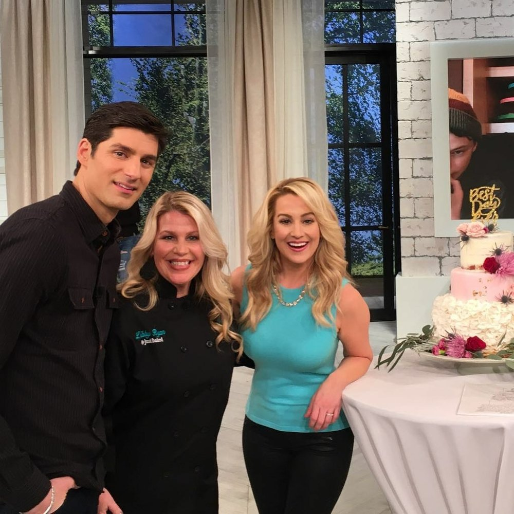 As seen on the Pickler & Ben show! - We competed against two other amazing bakeries for the opportunity to make a wedding cake for Chef Cat Cora and Nicole Ehrlich!Click here to watch!