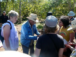 Canadians learn from Cuban medicinal plants expert, Gallego Ortero.