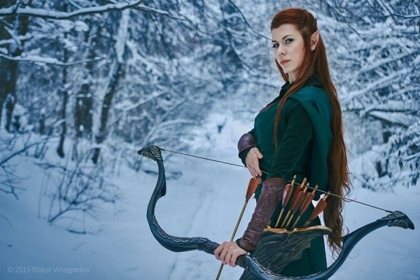 Tina Rybakova  as Tauriel