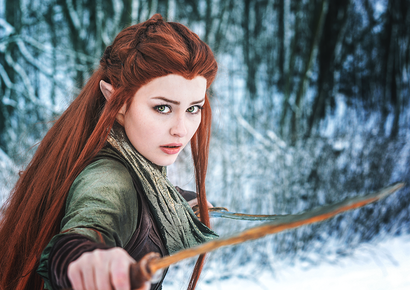 Starbit Cosplay as Tauriel