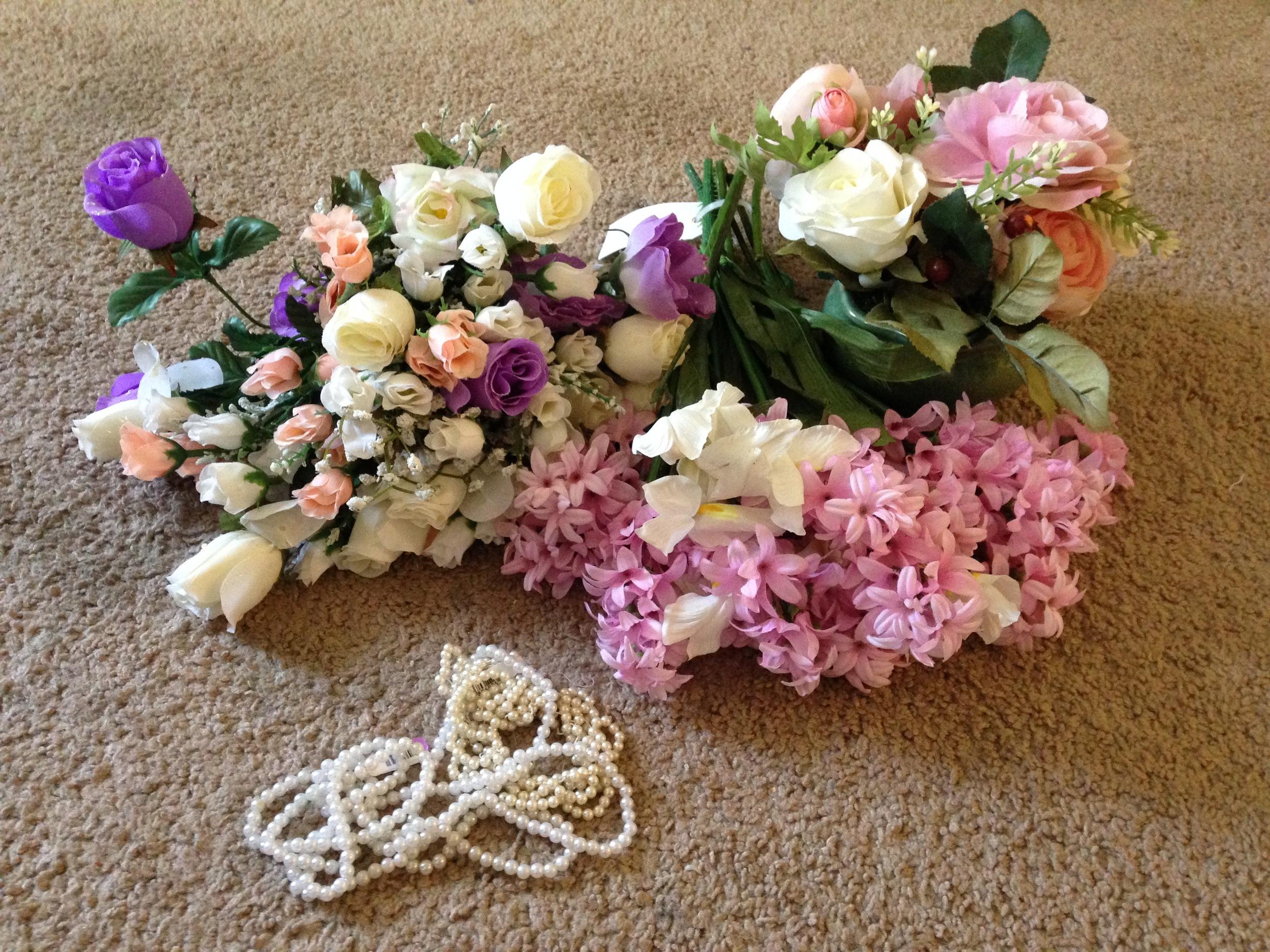 Faux flower crown tutorial ginny di diy faux flower crown izmirmasajfo