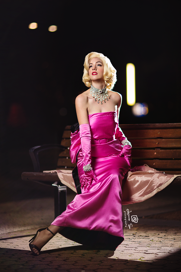 Marilyn Monroe by  Major Sam Cosplay  [Photo:  Lorenzo So Photography ]