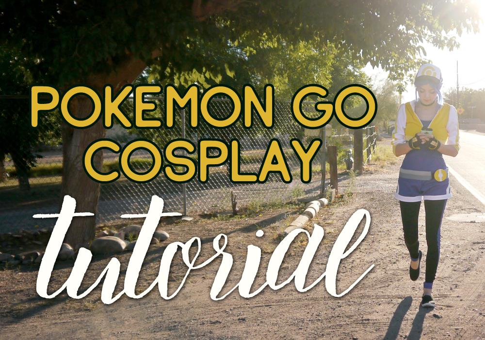 Pokémon Go cosplay tutorial — Ginny Di
