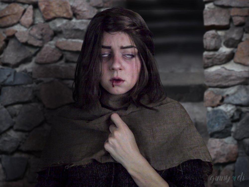 "My ""Blind Beth"" Arya Stark"