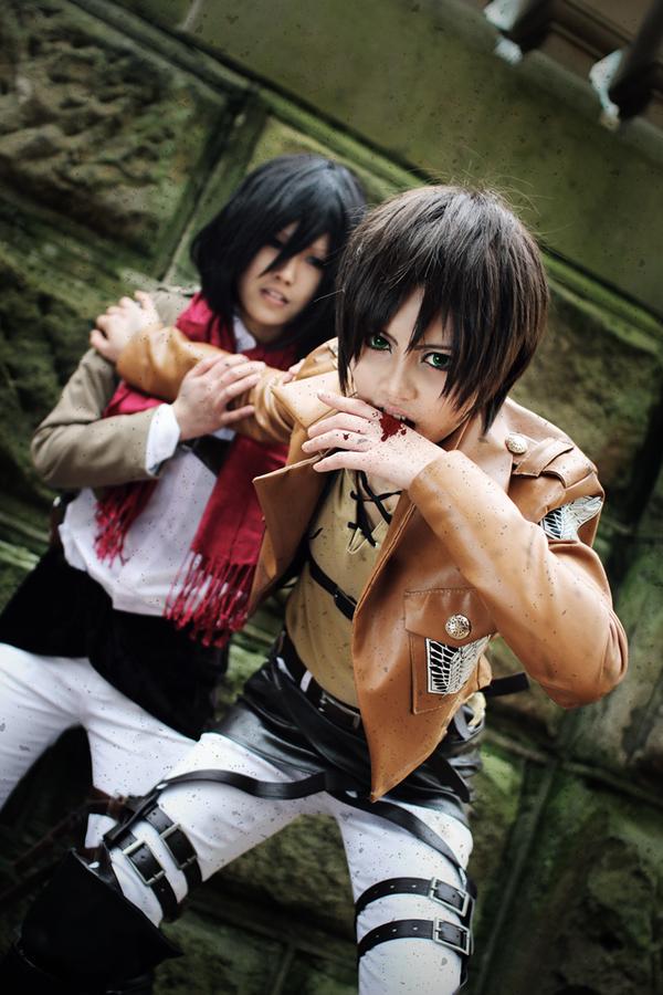 """""""Shingeki no Kyojin: Eren"""" by  HAPPYHAHA"""