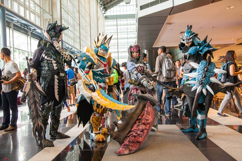 """AFA Singapore 2013: Monster Hunters Unite 2"" by DragonicHeaven"