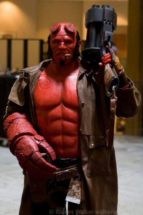 """Hellboy"" by Robert Walker"