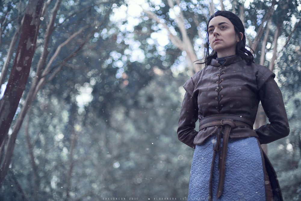 Arya Stark - Photo by Alexandra Lee Studios