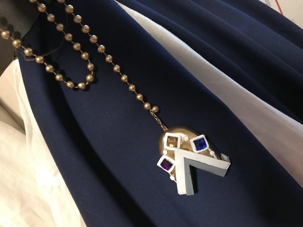 The finished holy symbol!
