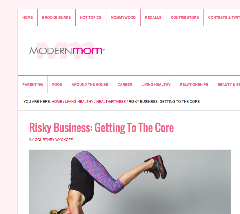 ModernMom.com feature