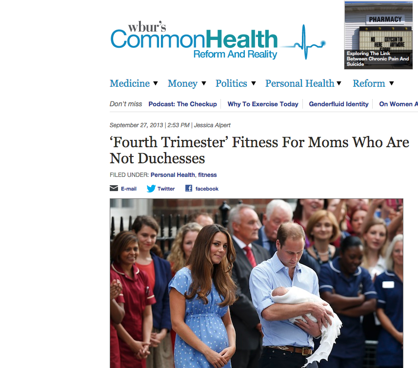 Boston WBUR Commonhealth feature