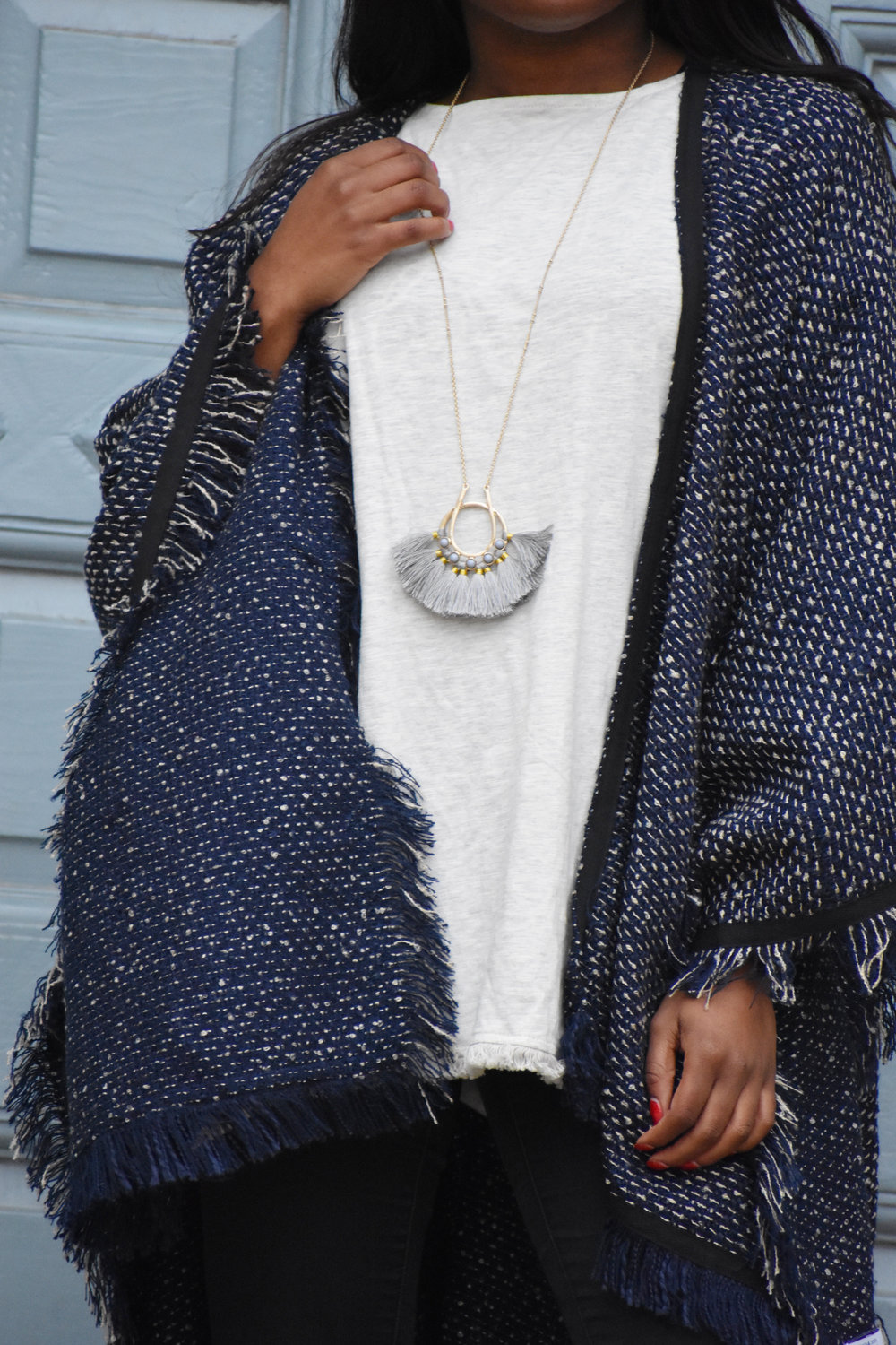 THE DEETS:  Fanned Out Necklace -   Whistle & Wild   - $28
