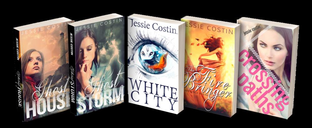 Jessie Costin YA Paranormal and Fantasy