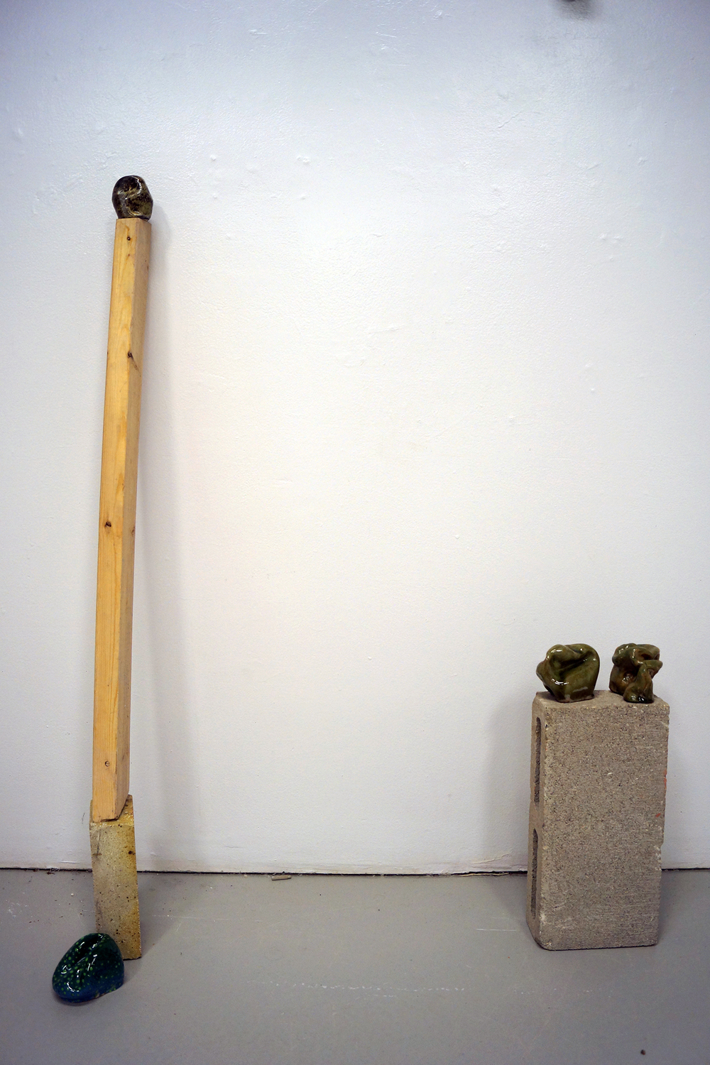 """Moon Rocks (installation view)"""