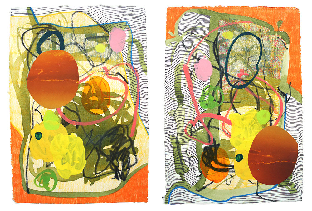 Untitled (55) - 2018 (diptych)