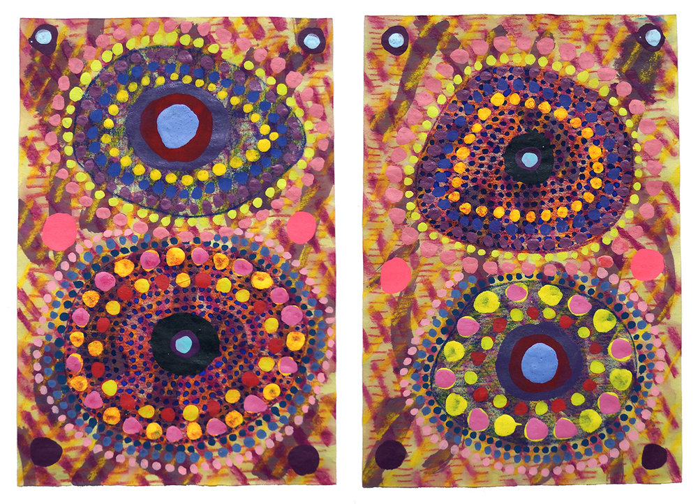 Untitled (3) - 2019 (diptych)