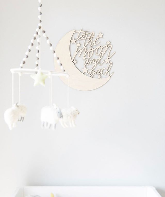 @thiswildheart just posted her nursery reveal and it's sooo gorgeous! She organized a giveaway which includes products from the small businesses that can be found in the nursery (including this new sign from us!). You can enter to win through the post on her IG page! 💓