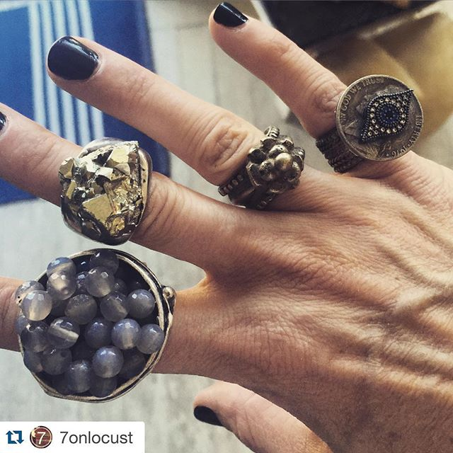 RJBIJOUX rings  @7onlocust ❤️ #rings #accessories #jewelry #unique #chic #love #instagood #fashionforward