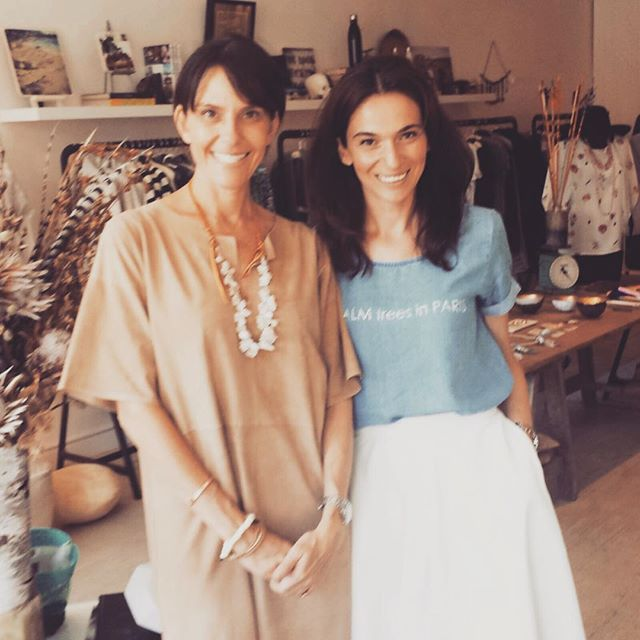 With @7onLocust owner Nadyne. Visit the store in Mill Valley for amazing findings and yours truly RJBIJOUX #doyourjbijoux
