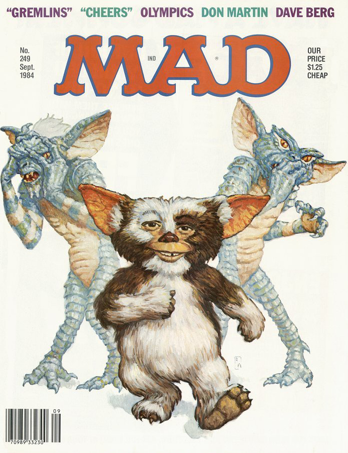 'Gremlins', September 1984 by Richard Williams.