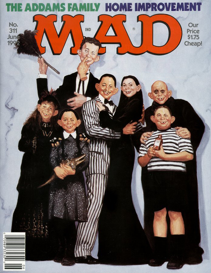 'The Addams Family' , June 1982 by Richard Williams