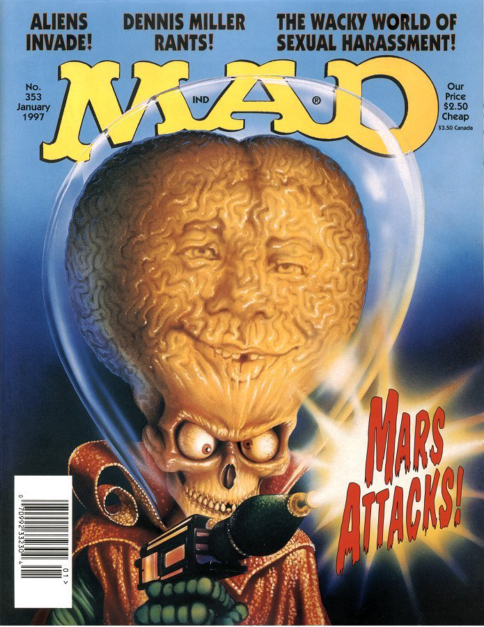 'Mars Attacks', January 1997 by Mark Friedrikson.