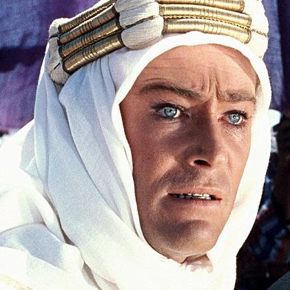 LAWRENCE OF ARABIA (1962) May 14th Prince Charles Cinema, London.
