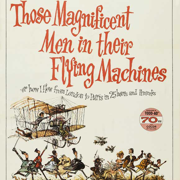 THOSE MAGNIFICENT MEN IN THEIR FLYING MACHINES (1965) May 13th Centrum Panorama Varnsdorf, Czech Republic