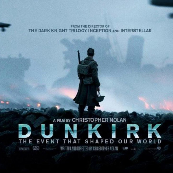 DUNKIRK (2017) From July 17th Various venues.