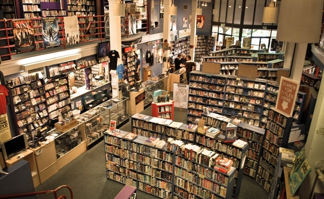 SCARECROW (Seattle, WA) - Scarecrow is a vibrant indie video store that has a staggering back catalogue of over 130,000 titles. They even have plentiful merchandise and free screening nights.
