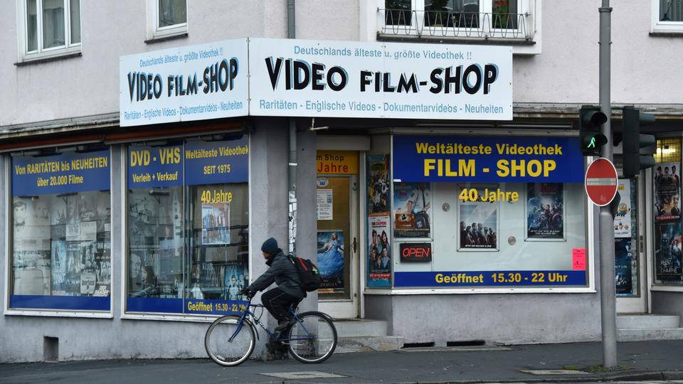 FILM-SHOP (Germany) - We have to open with this store, that opened in 1975 as the world's first movie rental store, and holds the world record of the longest running video rental store that started with Super 8mm rentals.It has an enthusiastic following and incorporates small cultural events.