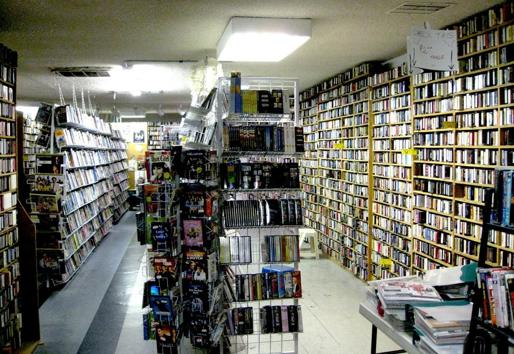 EDDIE BRANDT'S SATURDAY MATINEE (Los Angeles UK) - Self proclaimed 'Best Video Store In The World', Eddie's spot looks like a road side attraction. He also sells an extensive catalogue of movie stills, the type that used to populate entire movie poster / photos stores.