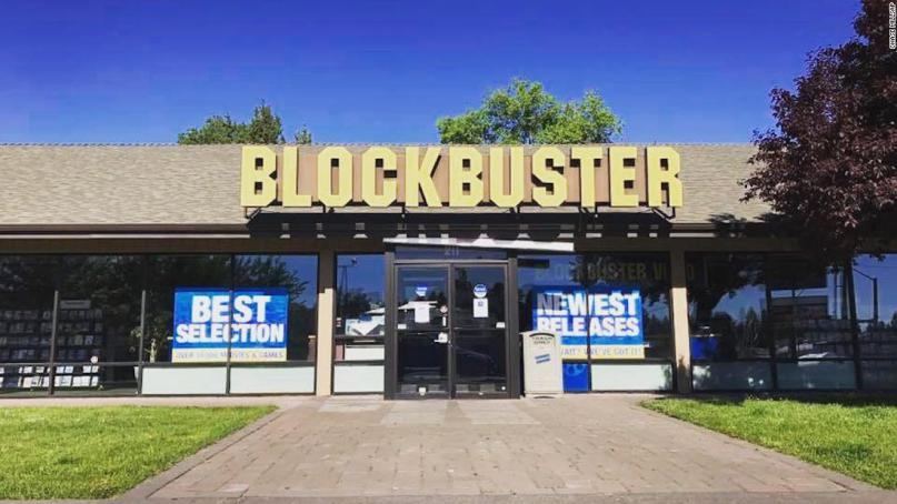 BLOCKBUSTER VIDEO (OREGON) - Bend, Oregon is home to the last Blockbuster in the U.S and is still thriving. It's become a veritable tourist attraction and the subject of a feature length documentary.