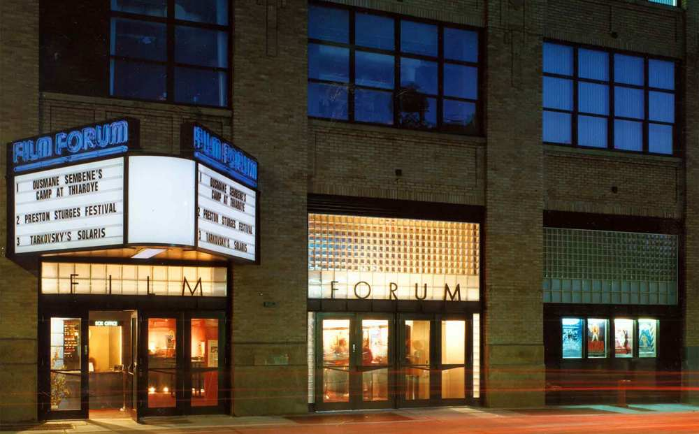 FILM FORUM (New York City) - Situated in lower Manhattan since 1970, Film Forum screens a highly eclectic year round calendar of classics both famous and obscure.