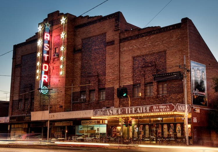 ASTOR THEATRE (Melbourne, Australia) - First opened in 1936, this art deco film palace is famous the world over. Screens double features in 35mm, 70mm and DCP. Has been home to three resident cats and a history not unlike a Hollywood tale, with several close calls from closure.