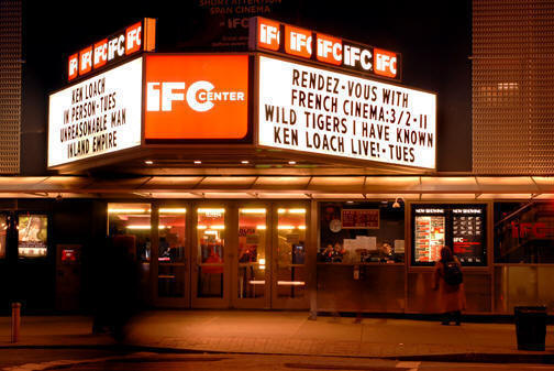 IFC CENTER (New York City) - Opening in the 1930s, The Waverley Theater reopened as The IFC Center in 2005 after a closure four years prior. As well as new arthouse fare, they screen regular retrospectives and midnight movies (a concept started by The Waverley) in 35mm and digital formats.