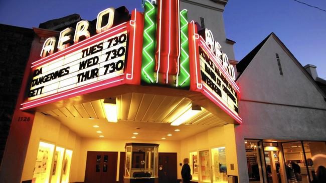 AERO THEATRE (Santa Monica, CA) - Part of the American Cinematheque along with The Egyptian Theatre, it screens a similar program concept of classics and cult films in 35mm, 70mm and DCP.