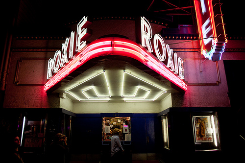 ROXIE CINEMA (San Francisco, CA) - Opened in 1909, it is the cities oldest cinema, harboring the spirit of a true classic film house pushing the aspect of brining community together through film. Independent films screen alongside classics in 35mm and digital.