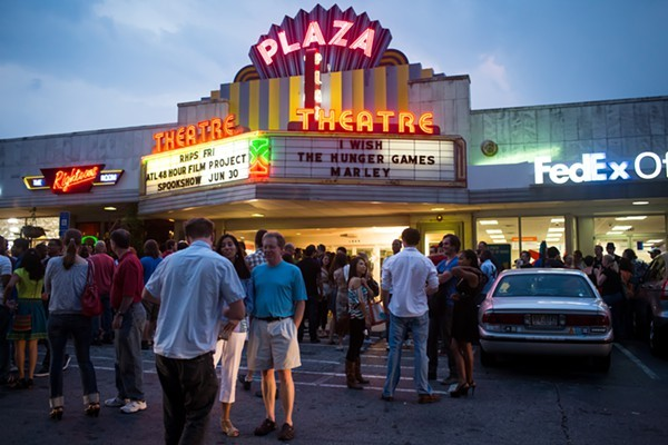 PLAZA THEATRE (Atlanta, GA) - Opened in 1939, The Plaza is Atlanta's oldest running film house. Having changed hands several times, it has undergone several renovations, and features a fantastic neon sign. The Plaza screens independent film alongside an ongoing repertory schedule and often brings film makers in for Q&A's.