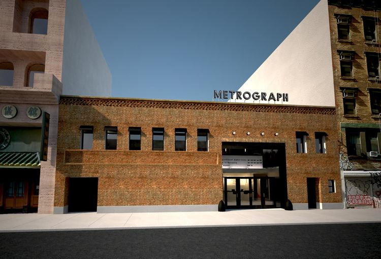 METROGRAPH (New York City) - Opened in 2015, The Metrograph's mission is to hark back to the hospitality of cinemas in the 1920s. Featuring a restaurant, bookstore, balcony lounge and candy bar, the cinema hosts premieres as well as a massive, well curated selection of classics and cult movies mainly in 35mm.