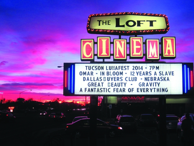 LOFT CINEMA (Tuscon, AZ) - Opened in 1972, The Loft is a non profit cinema that screens independent and art house new releases alongside an ongoing calendar of retrospective and classic cinema. Screens 35mm and DCP formats and is home to one of the coolest retro signs in repertory culture.