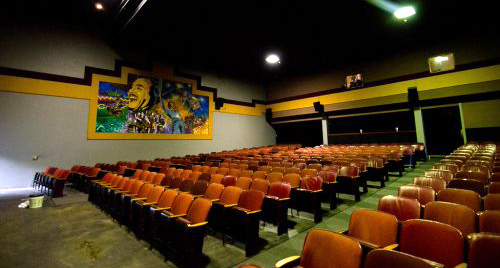 THE FRIDA CINEMA (Santa Ana, CA) - The Frida is a non for profit cinema run in Santa Ana that specializes in independent, art house and classics and named for Frida Kahlo. Also screens live music accompaniment sessions.