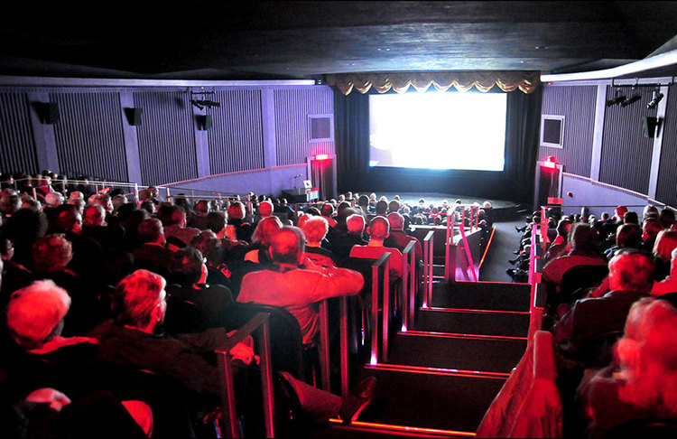 DRYDEN THEATRE (Rochester, NY) - Found at the Eastman Museum, named for the founder of the Eastman Kodak company, the Dryden is equipped to show all film formats, including incredible rare nitrate films, as well as DCP. It screens an enviable calendar of film history.
