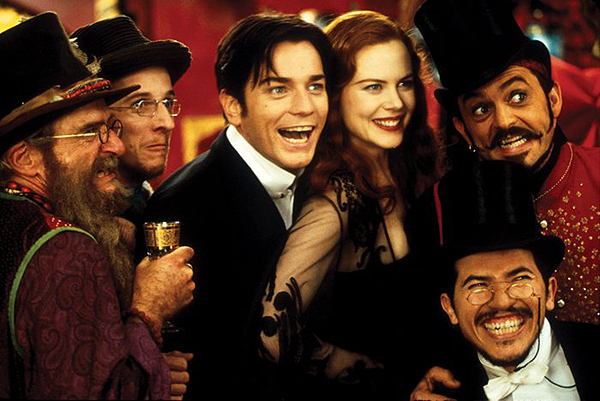MOVIE PARTY: MOULIN ROUGE (2001 / DCP) - Sat Feb 9th 11:30am / Austin Alamo Drafthouse's Mueller 4:30pm, Ritz 3:35pm, Lakeline 4pm & Village 9:40pm, all Austin TXBaz Luhrmann's extravaganza may be all about love, but until you've seen the movie, and sung the songs, and learned that lesson in a movie theater with 200 other heart-swept people, you'll never really know what it's like to be in love. Your heart will swell! Your lungs will burst! Your brain will explode with rainbows! Props for some special interaction, plus a Can-Can dance contest!More info HERE