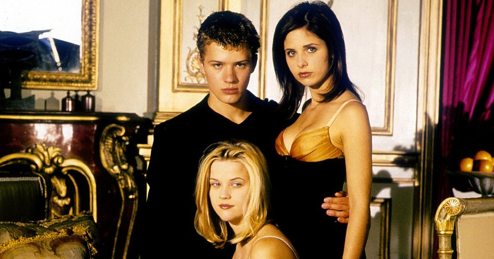 CRUEL INTENTIONS (1999 / DCP) - Thurs Feb 14th 7:30pm / Astor Theatre, Melbourne AustraliaSarah Michelle Gellar, Ryan Phillippe, are manipulative step-siblings caught in a wager where Phillippe must win the heart of straight laced Reese Witherspoon. About as late 90s as they come, Cruel Intentions is your cynical romantic movie for the night, and makes such wonderful use of The Verve's 90s anthem 'Bittersweet Symphony'.More info HERE