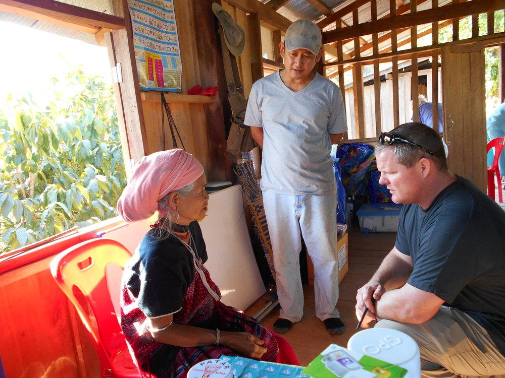 Dr. Danny Bramer, Thailand 2014